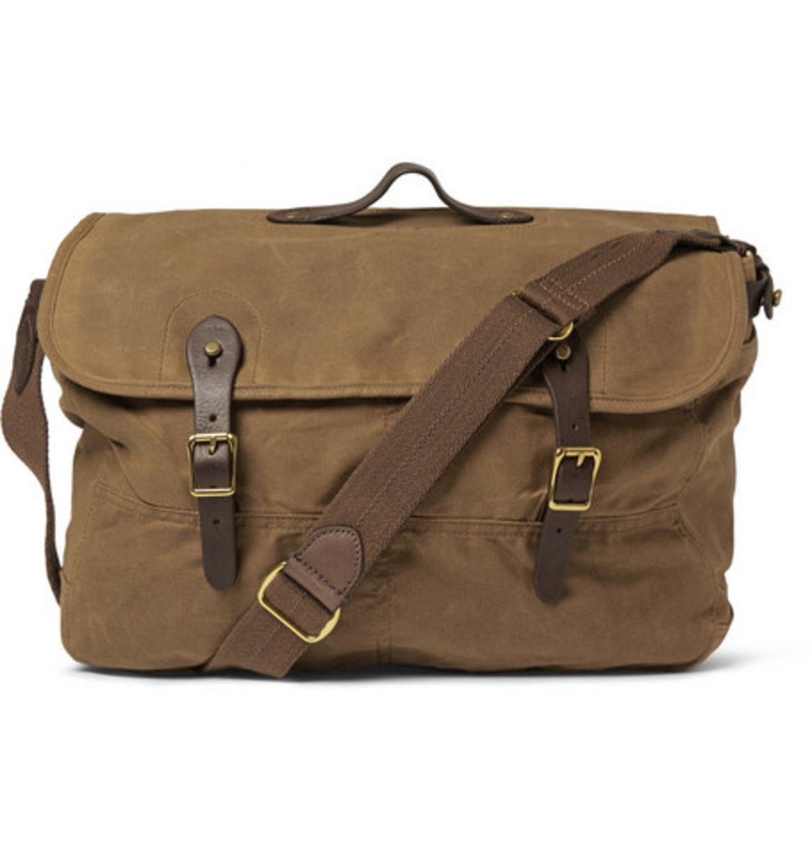 dapper dad gift guide J. Crew messenger bag