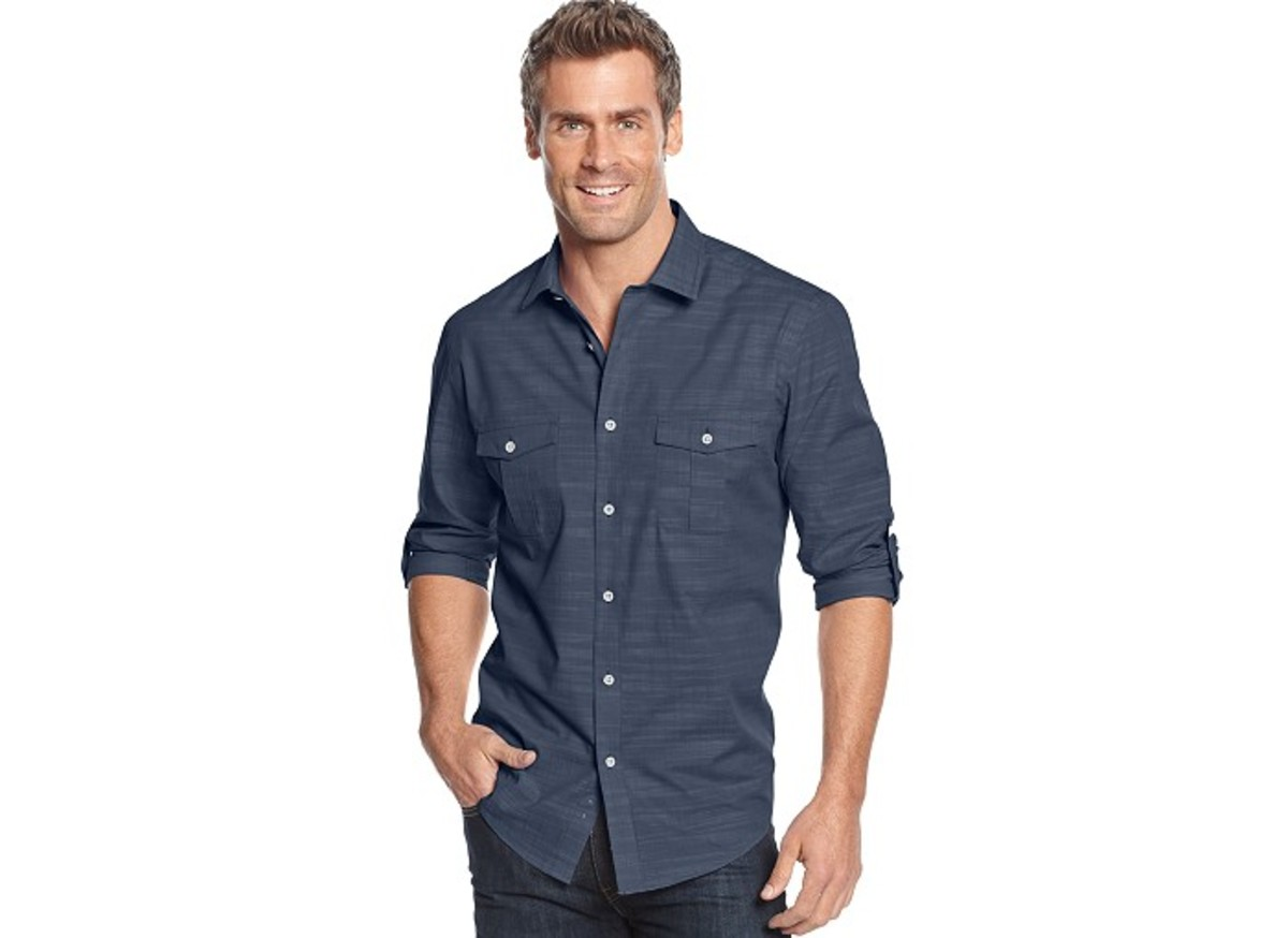 dapper dad gift guide Alfano button down