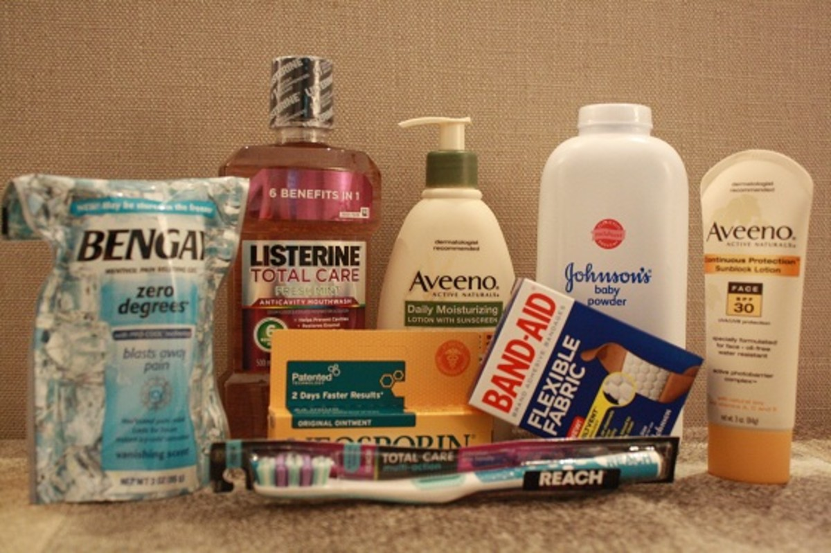 Johnson & Johnson Healthy Essentials Back-to-School Survival Kit
