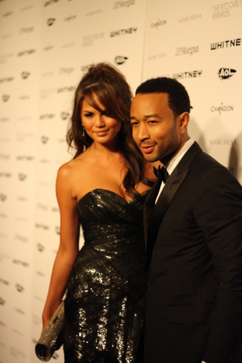 John Legend & Chrissy Teigen Whitney Studio Party 2011