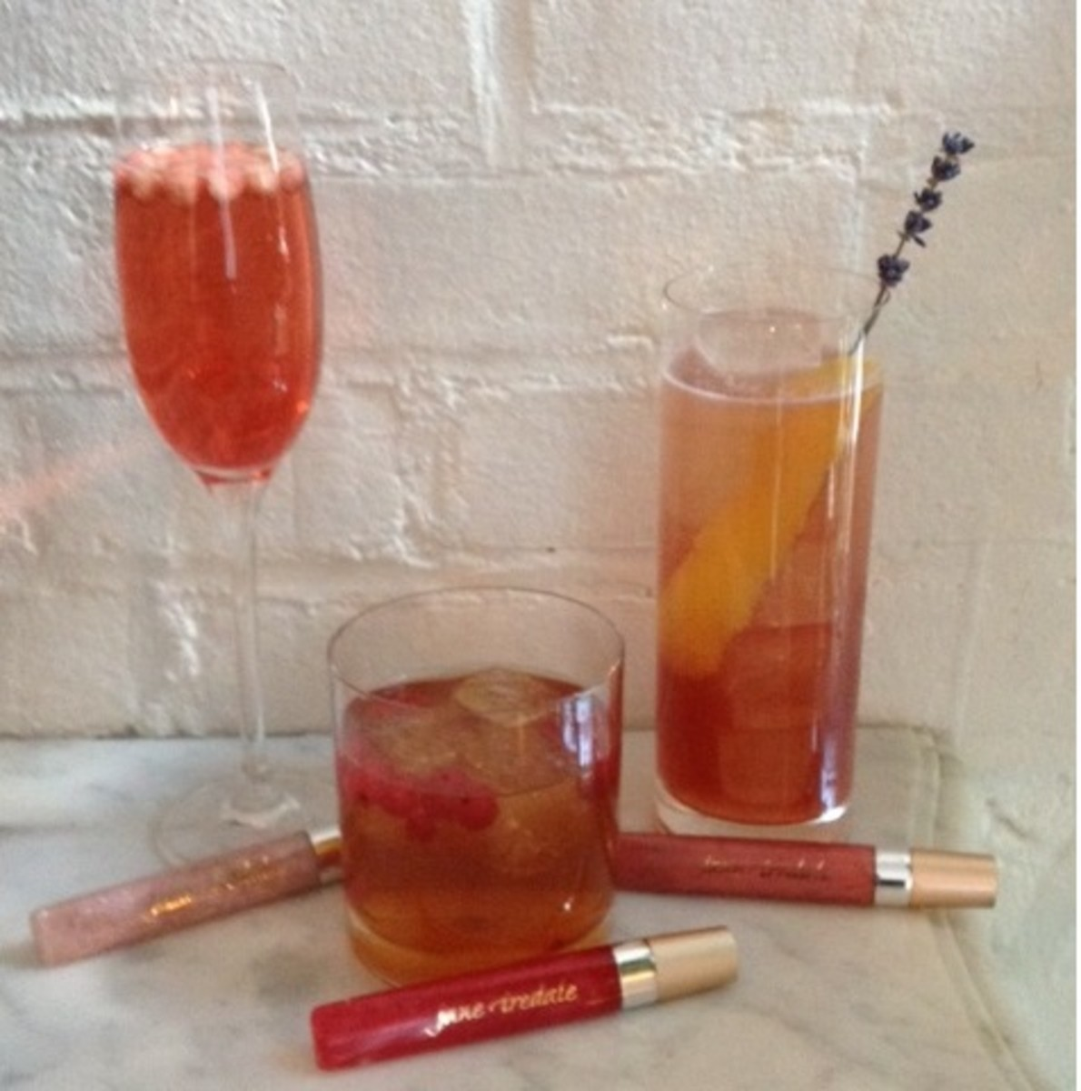 Jane Iredale PureGloss Inspired Cocktails