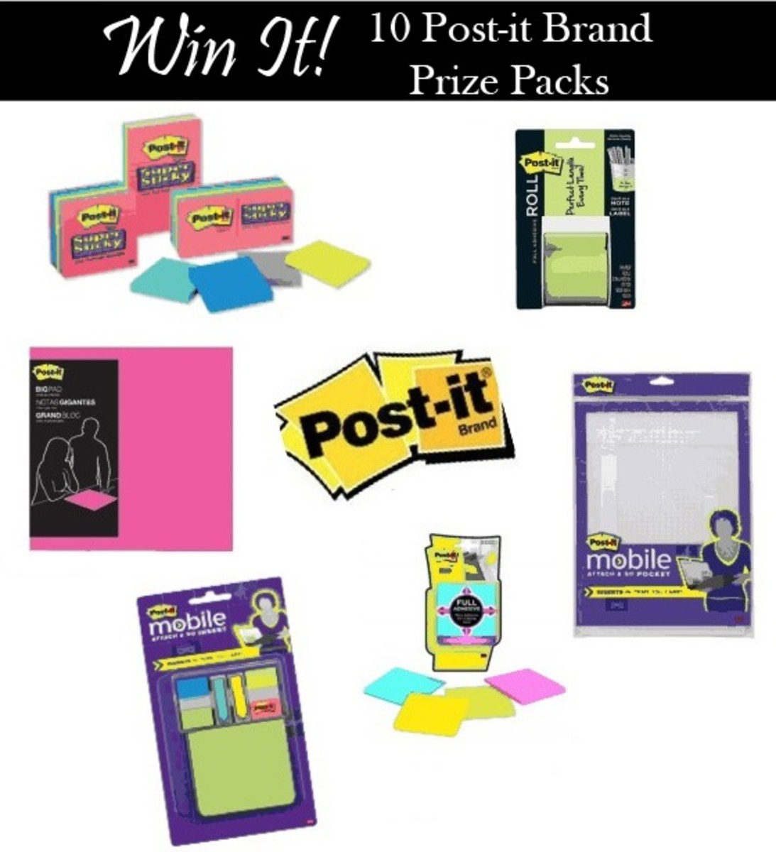 Post-it Prize Pack Giveaways via @Glamamom