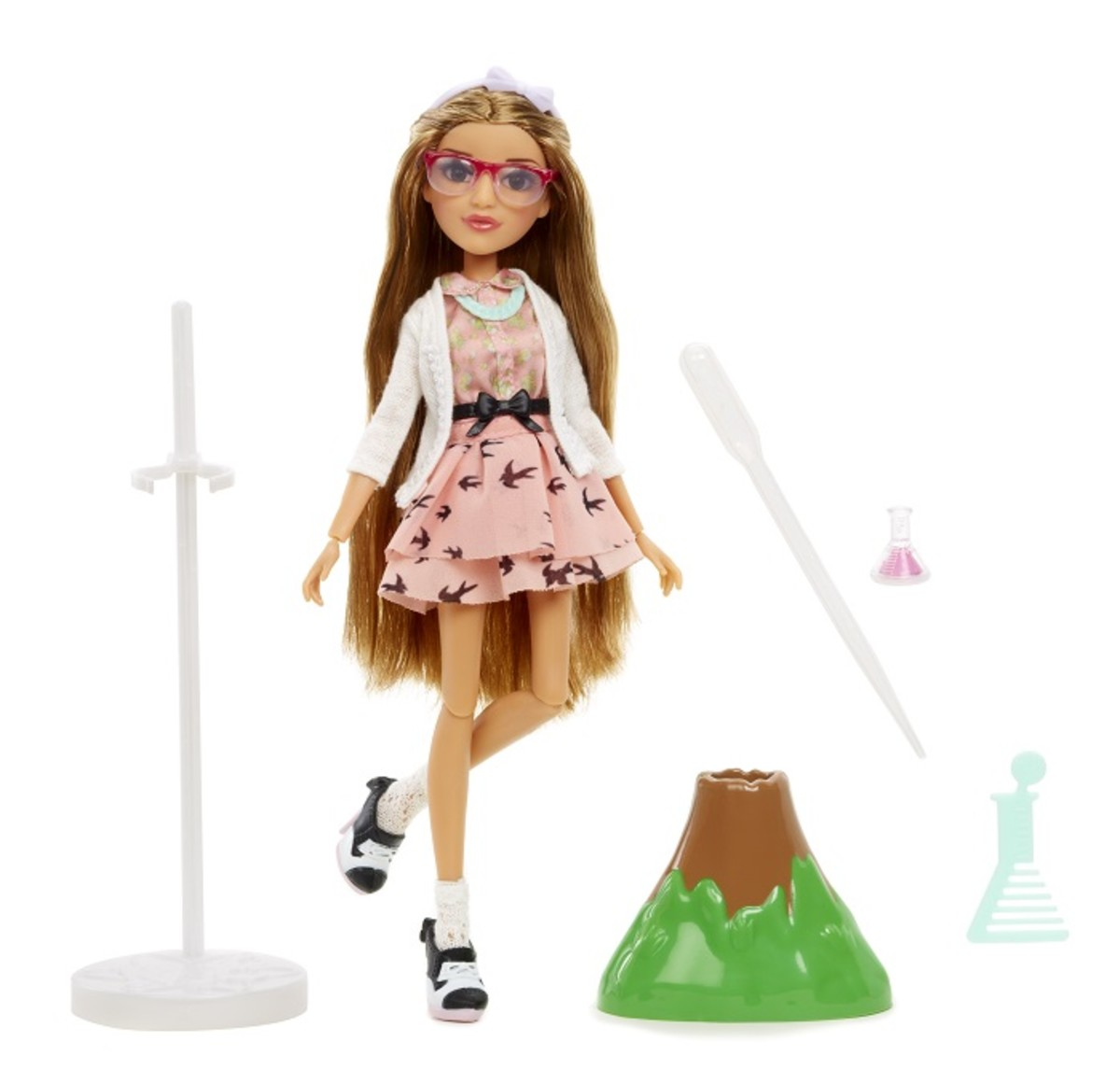 Project Mc2 Doll with Experiment Adriennes Volcano 1