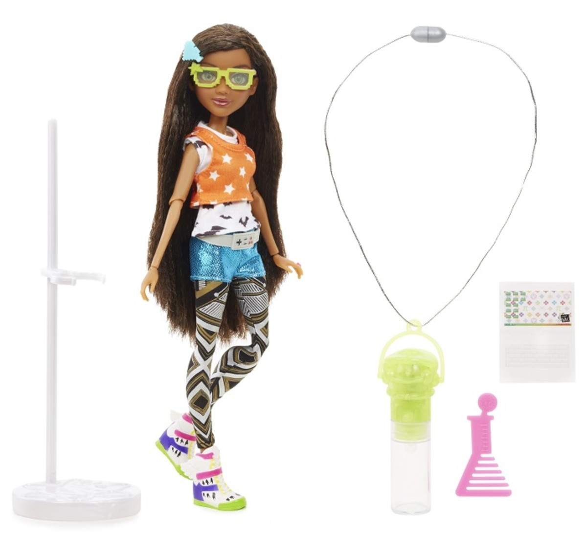 Project Mc2 Doll with Experiment Brydens Glow Stick 1