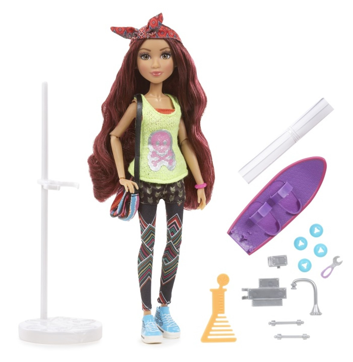 Project Mc2 Doll with Experiment Camryns Skateboard 1