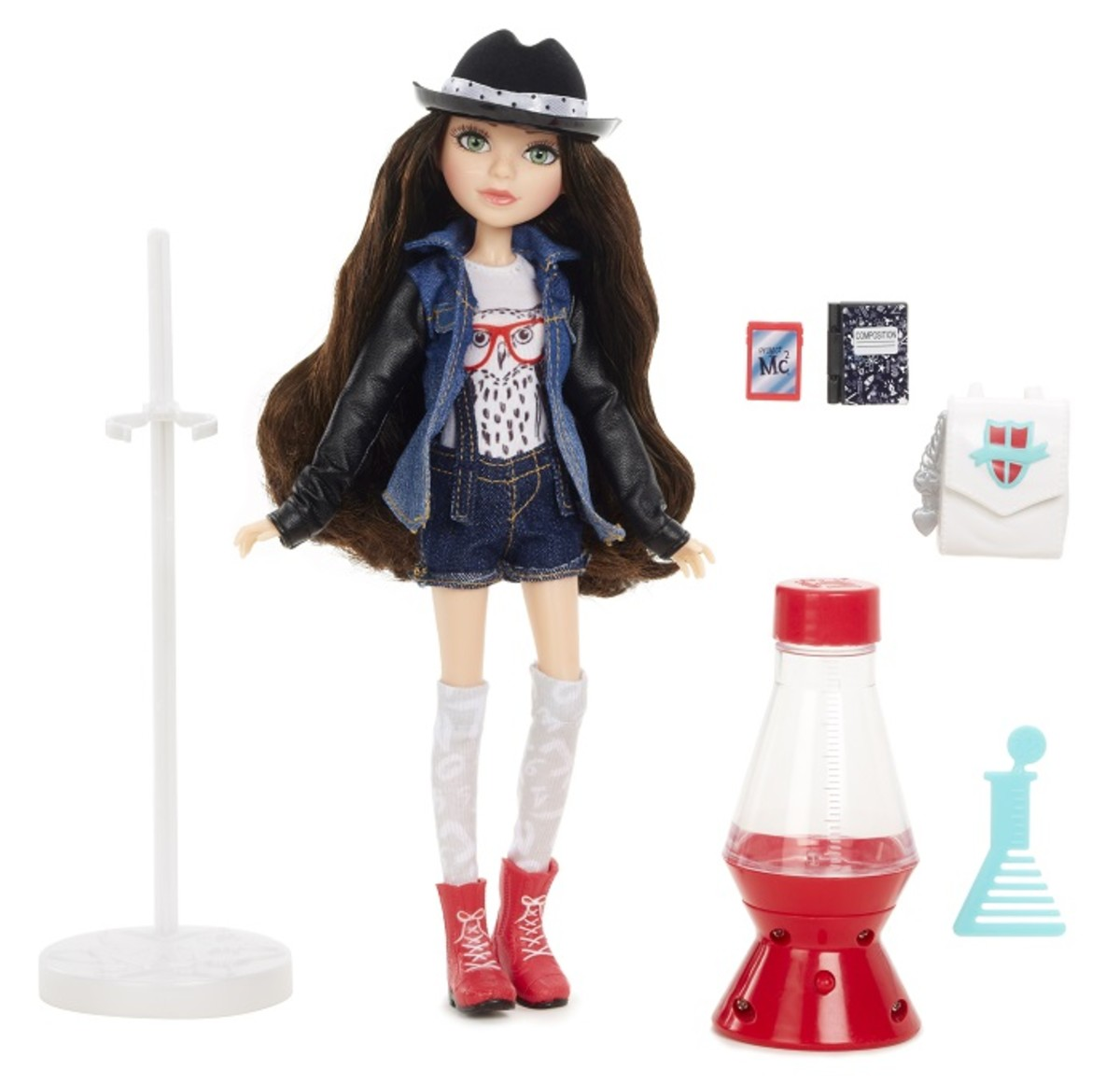 Project Mc2 Doll with Experiment McKeylas Lava Light 1