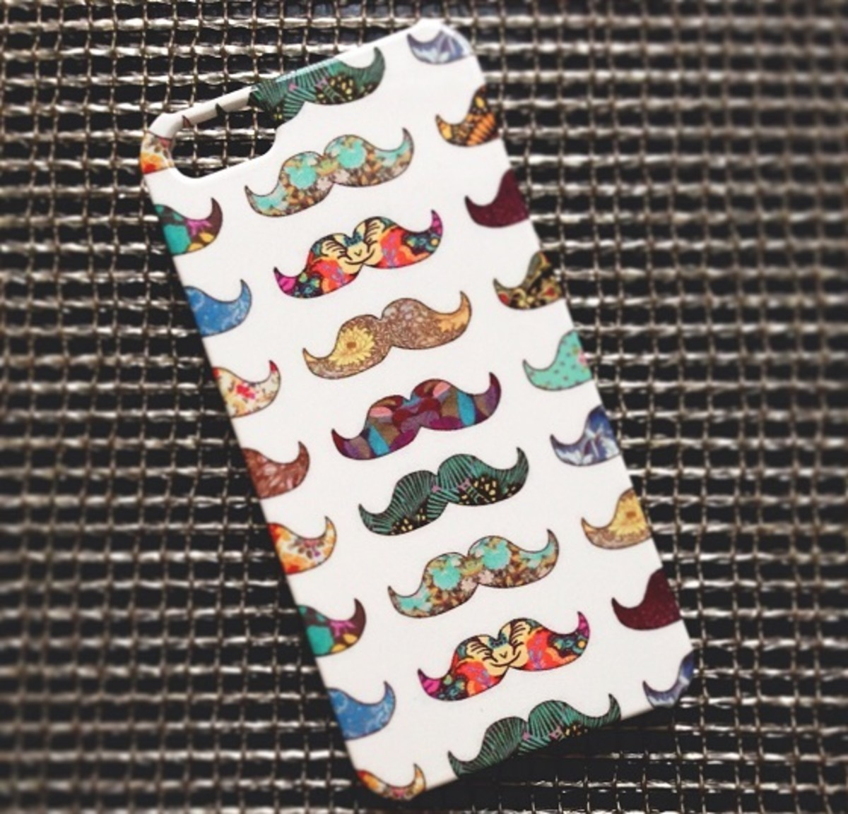 caseable Mustache Mania iPhone 5 case