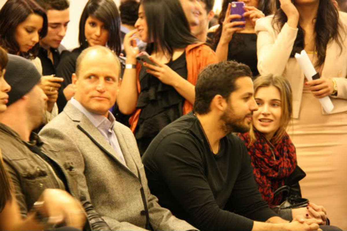 Woody Harrelson & David Blaine, Art Meets Fashion, Limelight Market