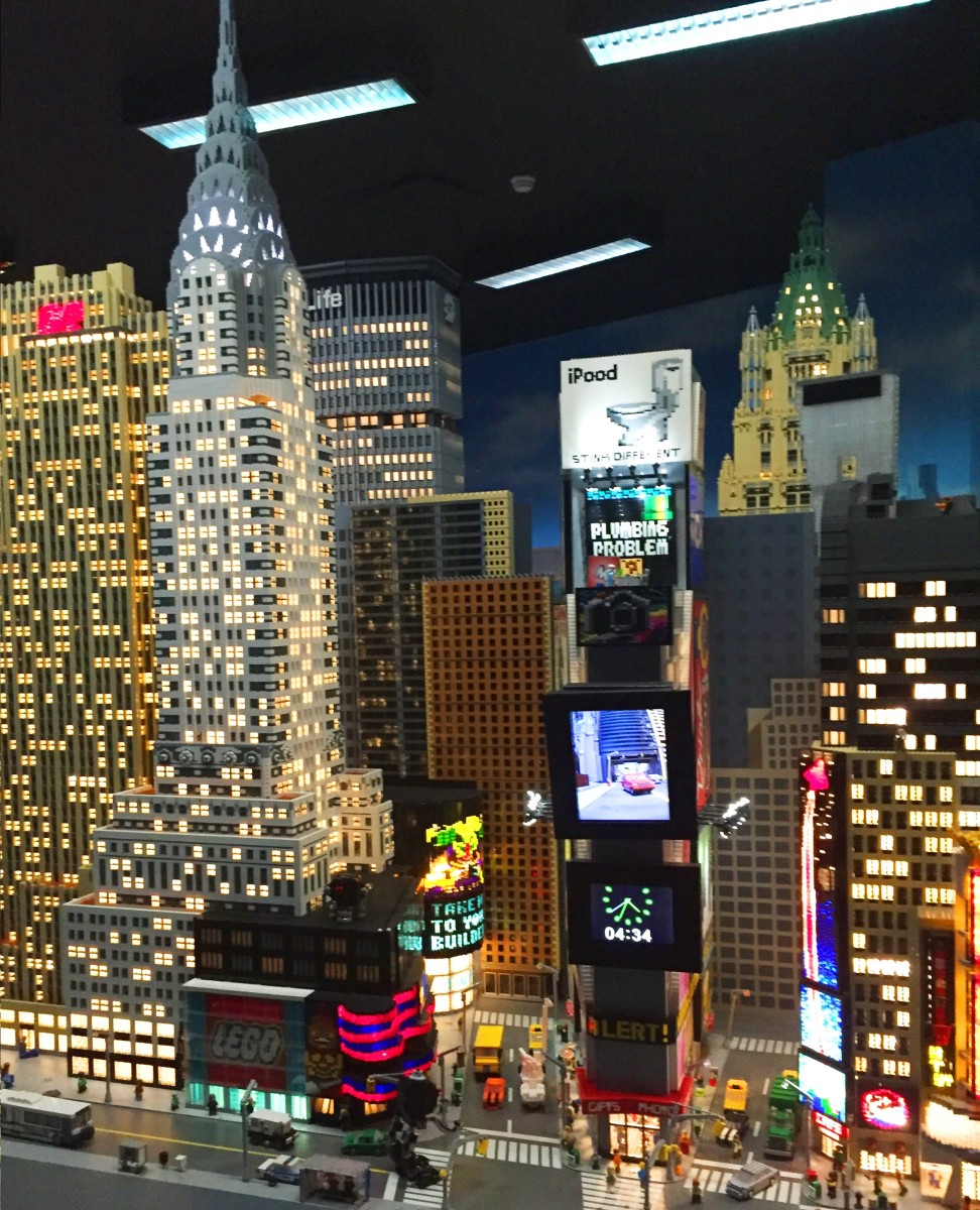 Miniland at LEGOLAND Discovery Center Westchester