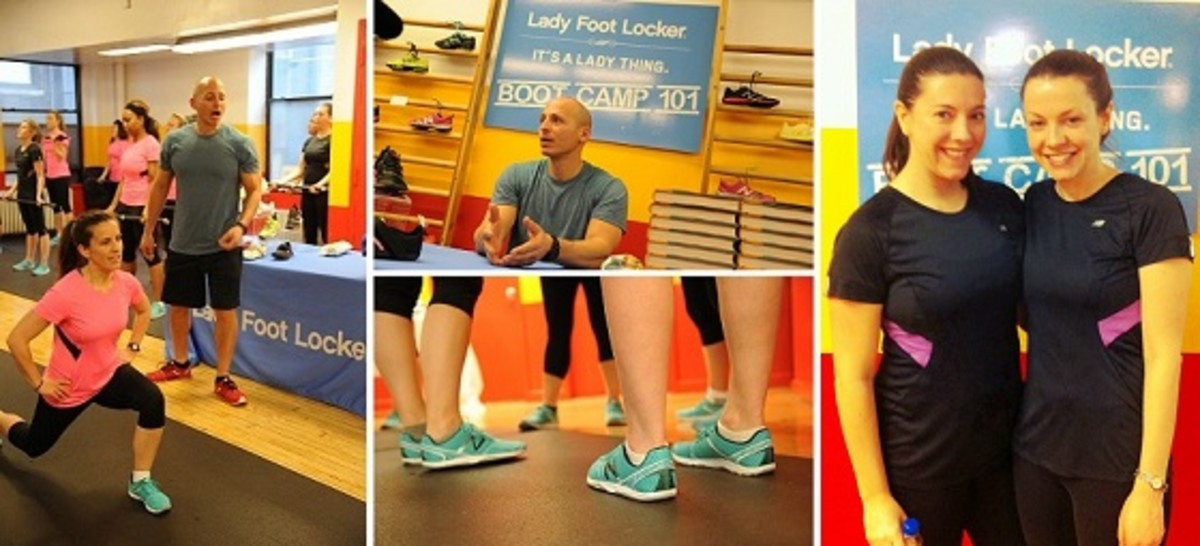 Boot Camp 101 with Lady Foot  Locker, New Balance & Harley Pasternak
