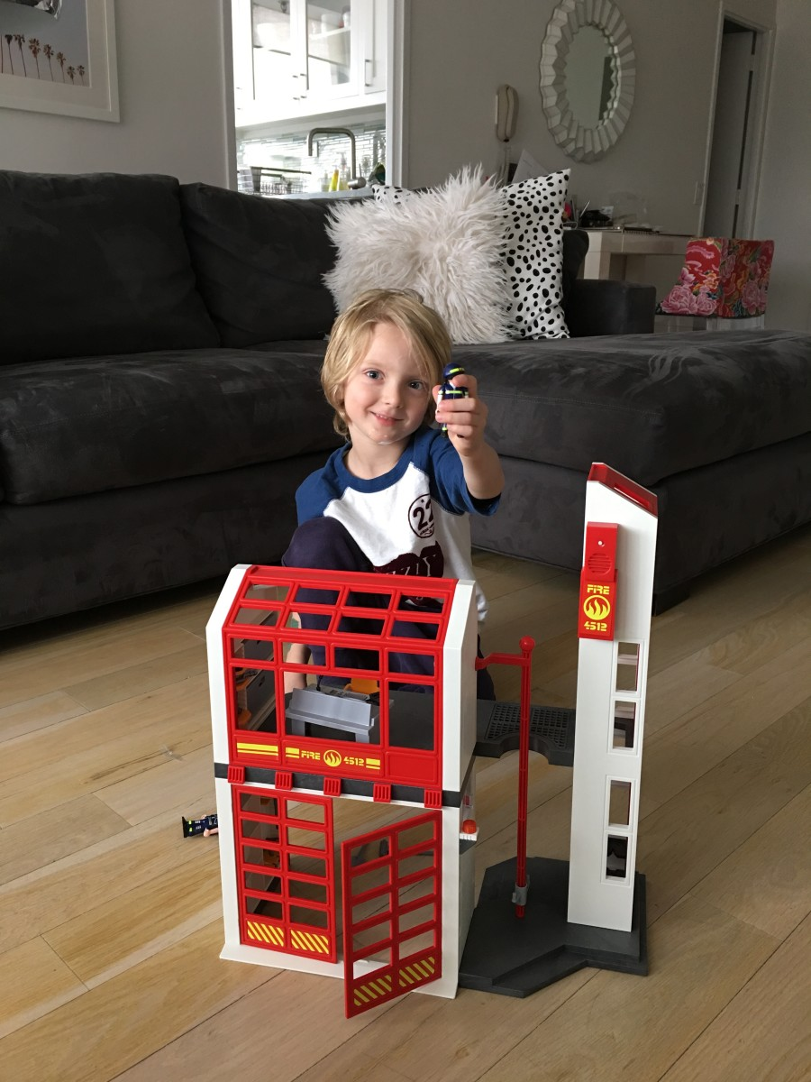 Playmobile firestation