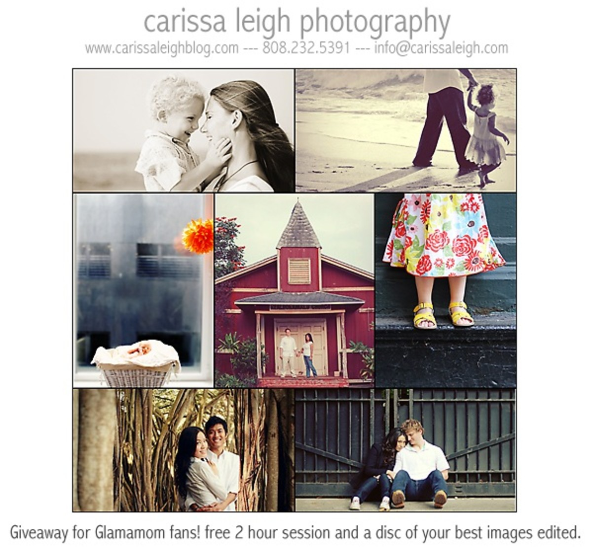 Carissa Leigh Photography Glamamom Giveaway