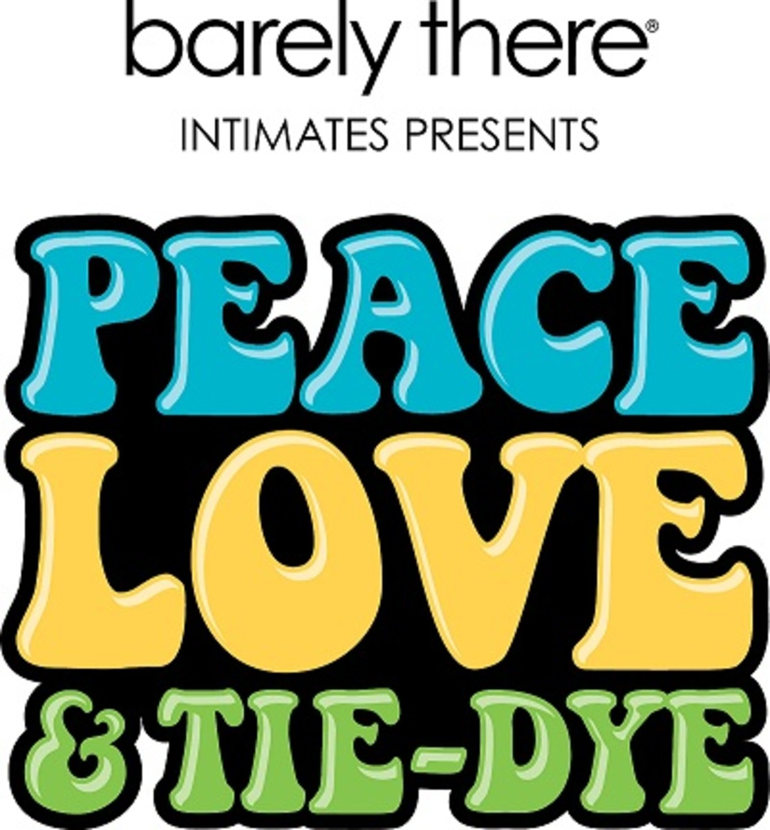 Barely There Peace, Love & Tie-Dye