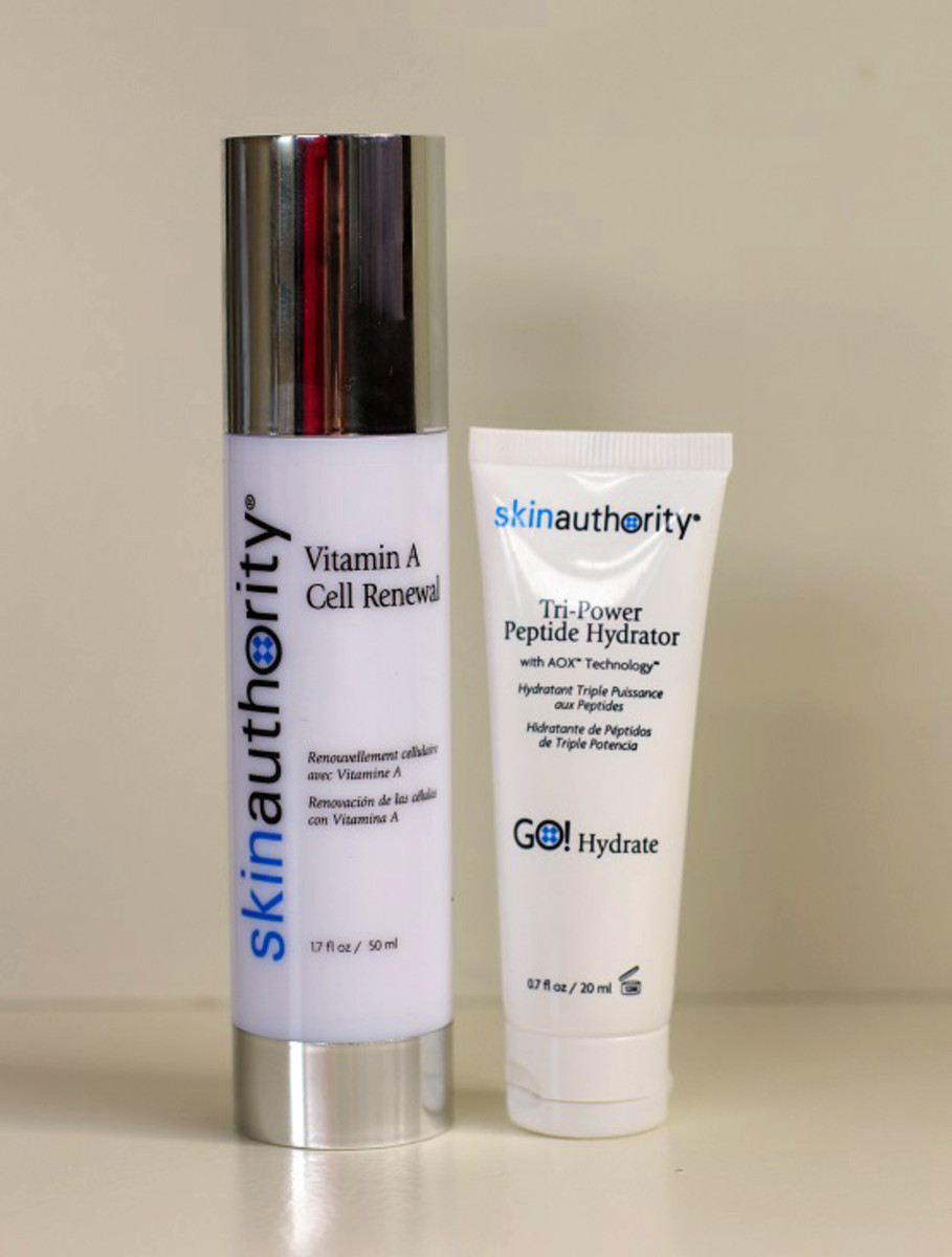 Skin Authority Retinopeptide Power DUO