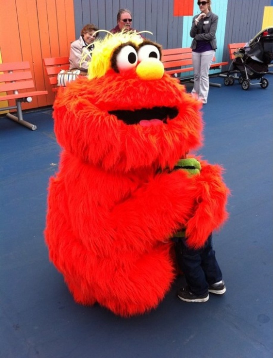 New Murray Character at Sesame Place, PA