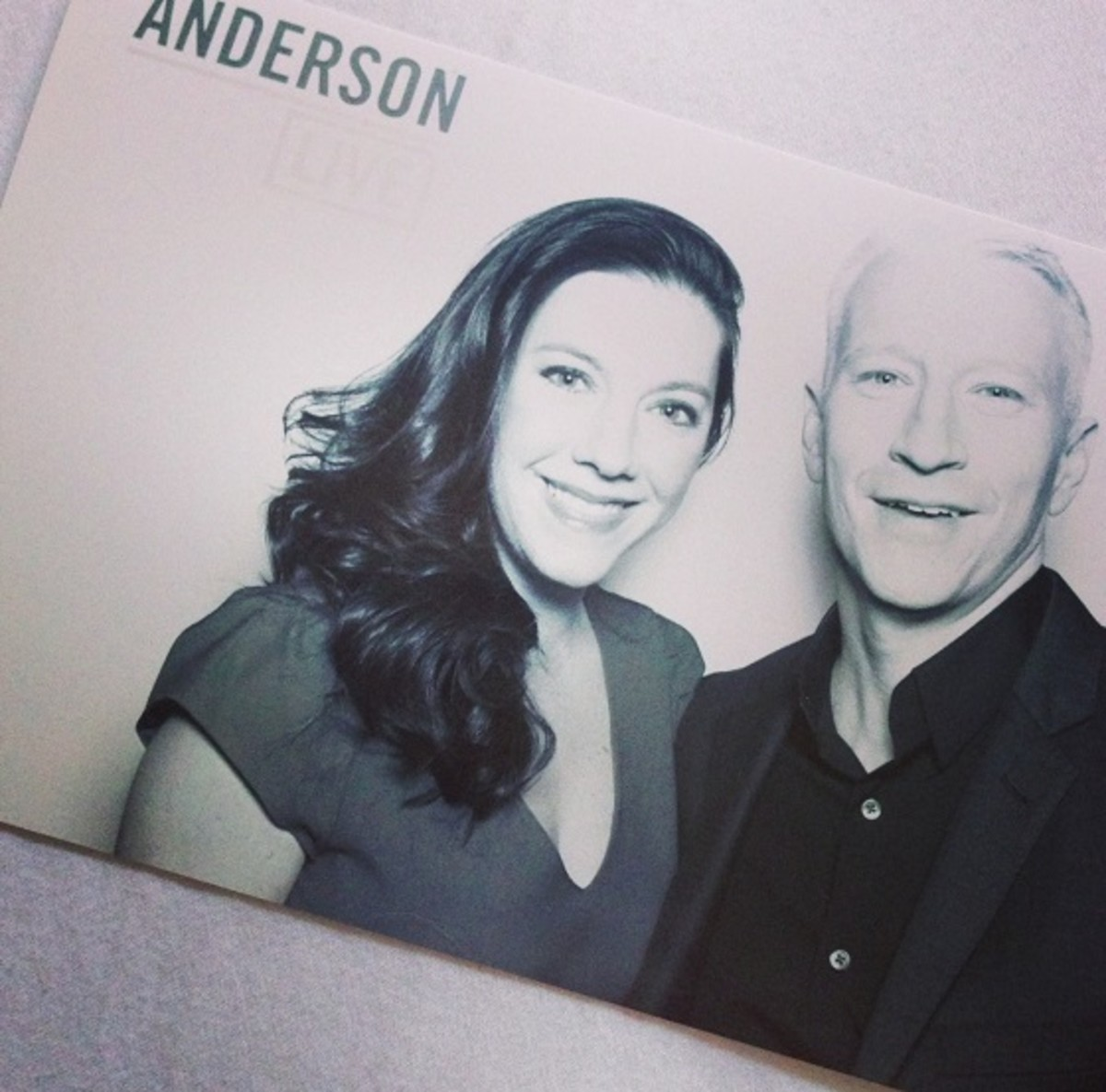 Jill Seiman & Anderson Cooper, Blogger of the Day, Anderson Live