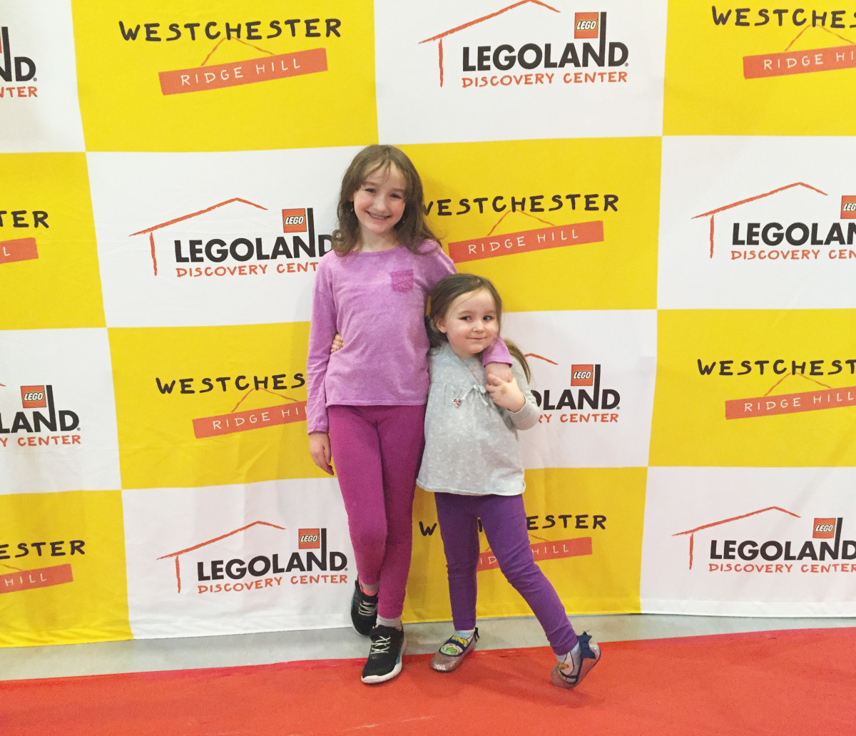 red carpet premiere at LEGOLAND Discovery Center Westchester for The LEGO Movie 4D A New Adventure