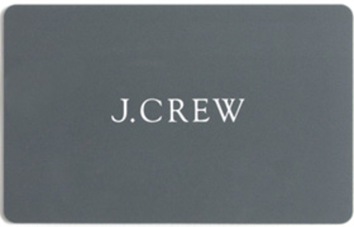 J. Crew Giftcard Giveaway from Swirl