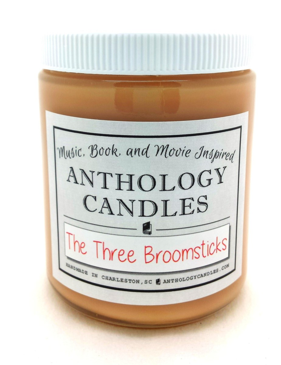 the three broomsticks anthology candles