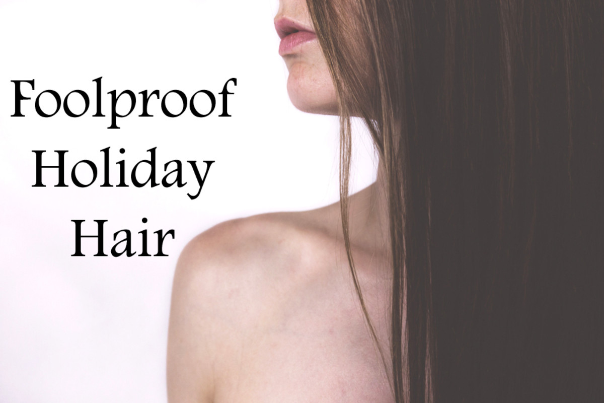 foolproof holiday hair
