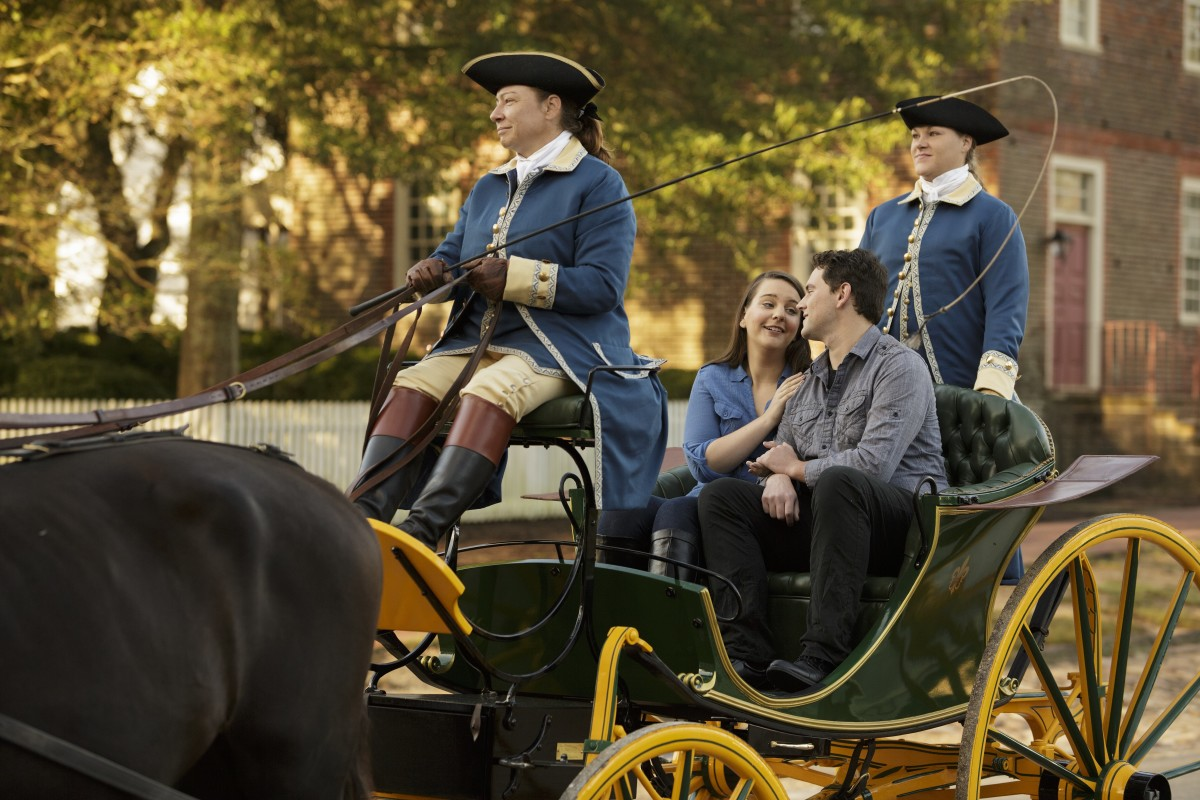 Carriage Ride, Colonial Williamsburg