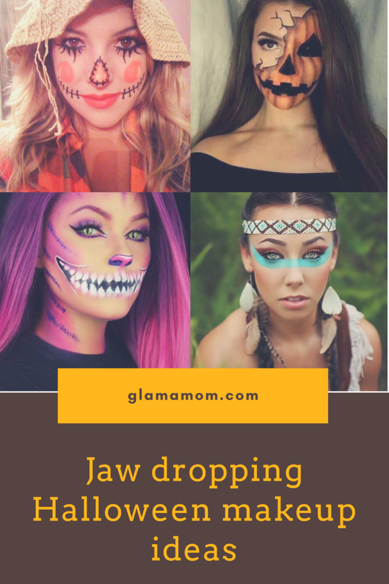 Jaw dropping Halloween makeup ideas