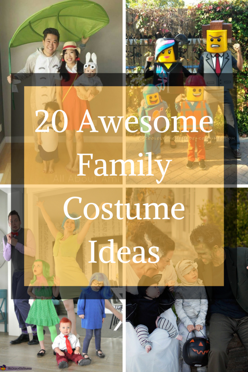 20 Awesome Family Costume Ideas