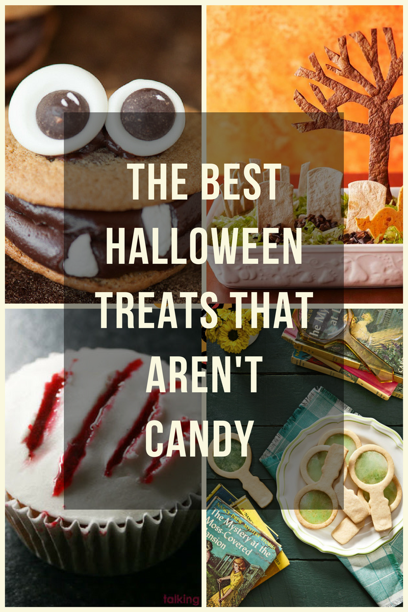 the best halloween treats that aren't candy