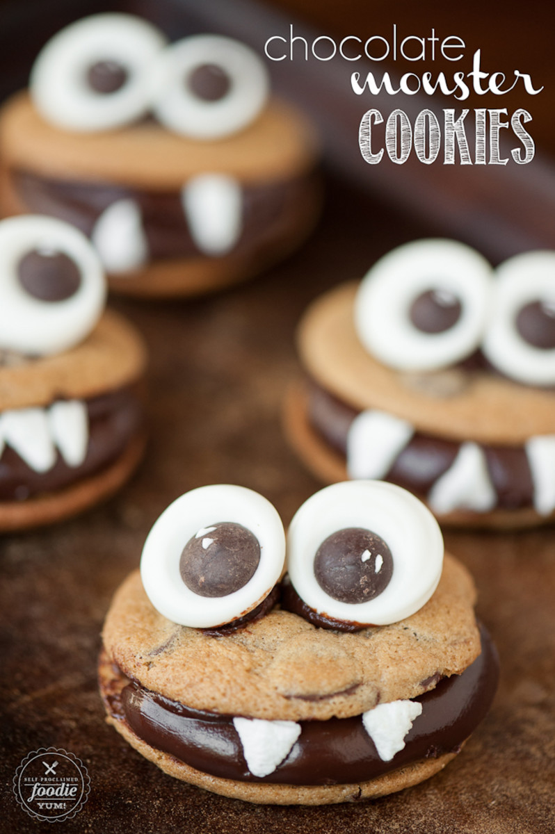 chocolate-monster-cookies
