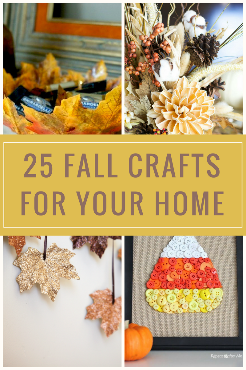 25 fall crafts for your home