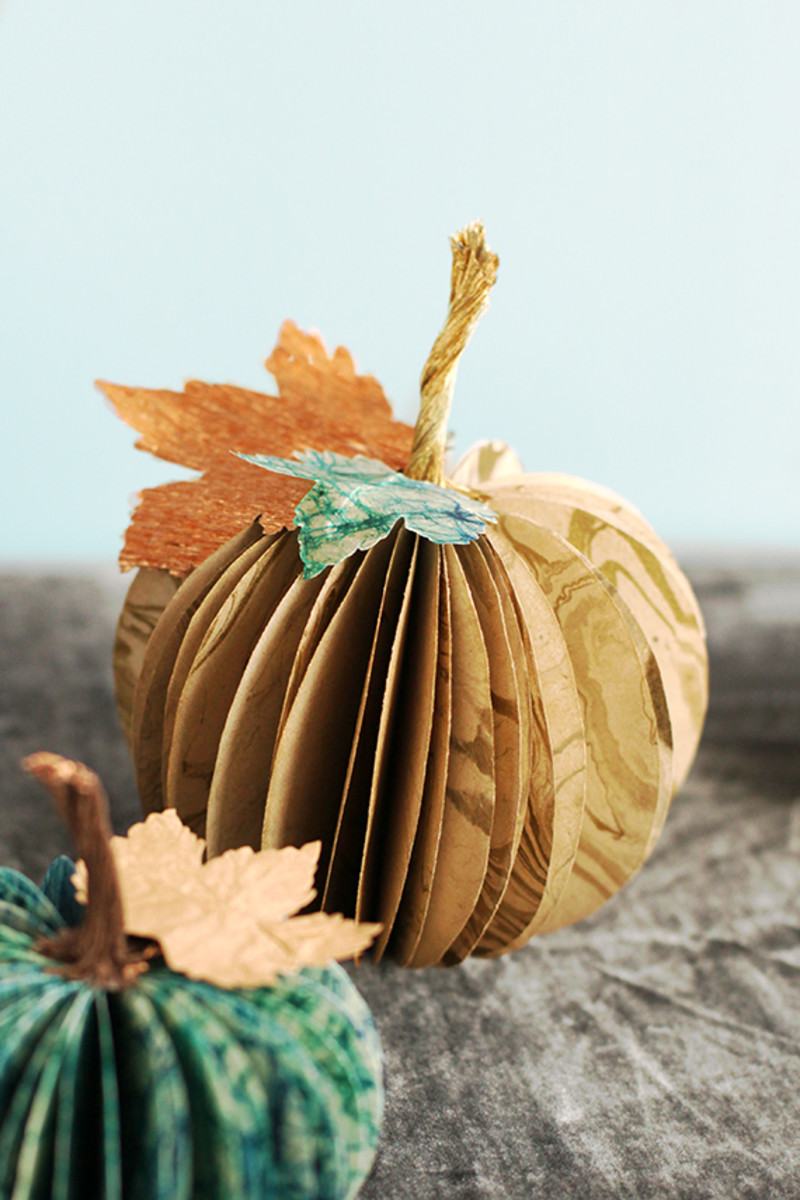 Paper Pumpkins from Minted