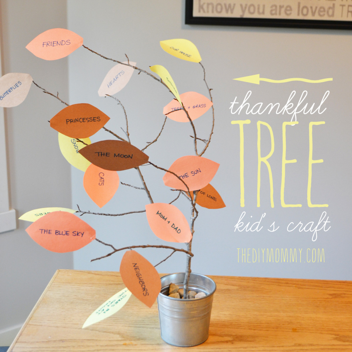 Thankful Tree from The DIY Mommy