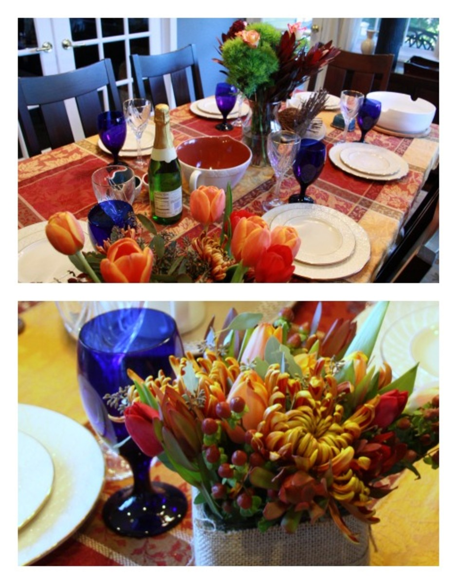 Table Setting from Lady and the Blog