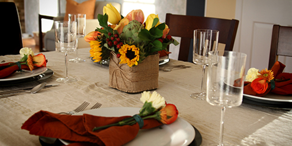 Easy Chic Thanksgiving Tablescape from Take Time for Style