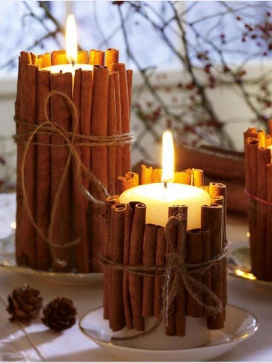 Cinnamon Candle from Just Imagine
