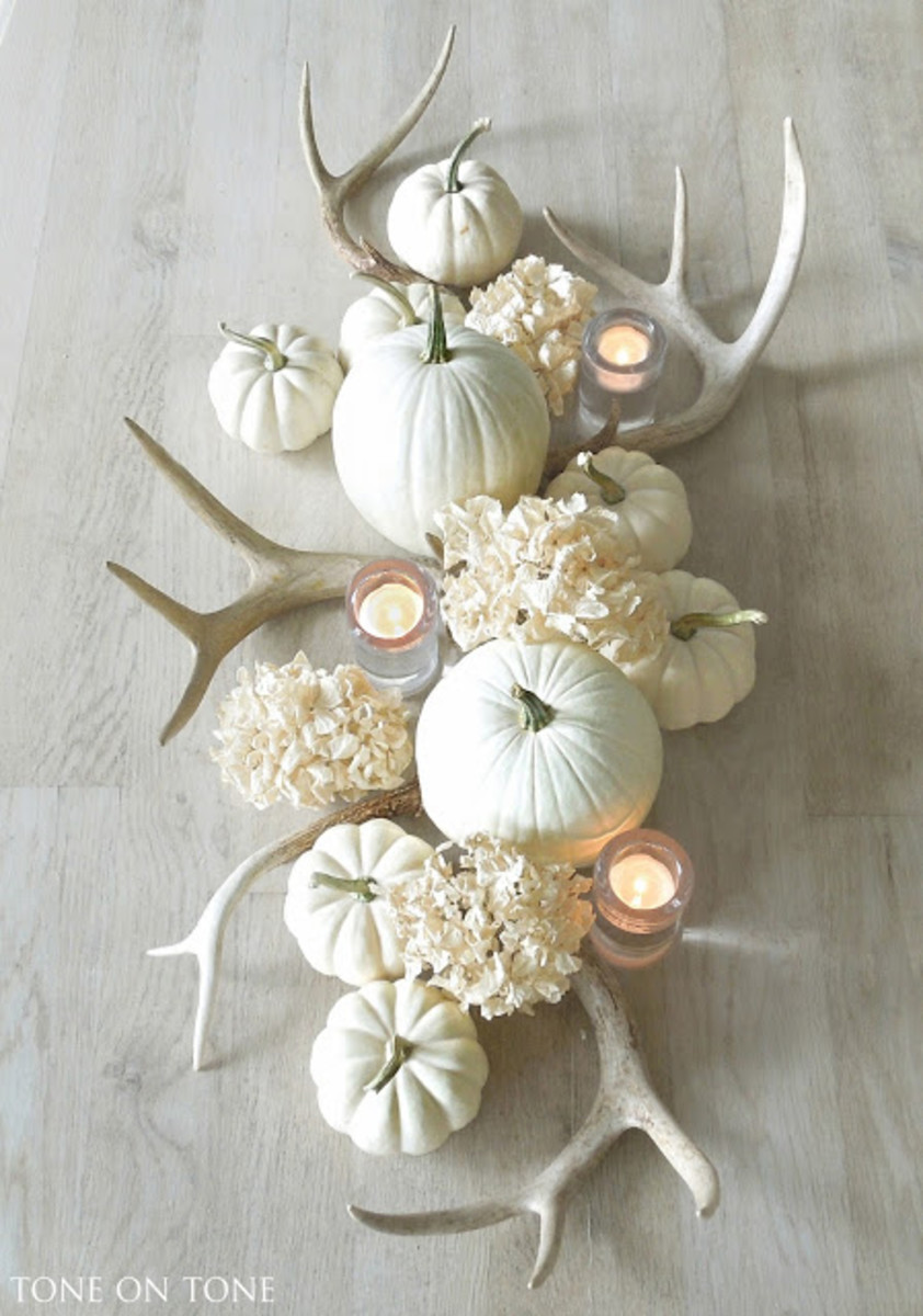 Fall Table Decor from Tone on Tone