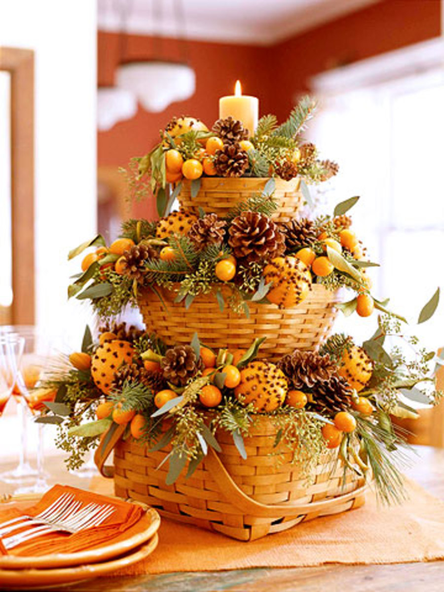 Bountiful Fall Baskets from Better Homes and Gardens