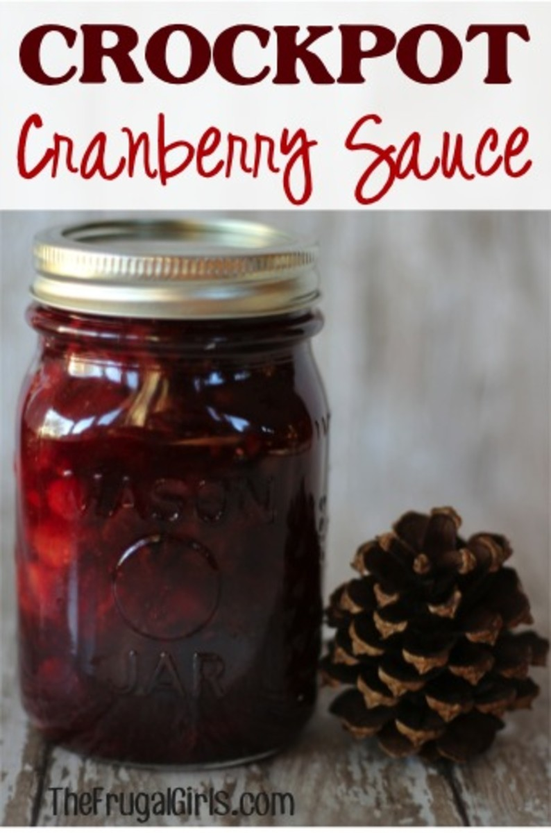 Easy Cranberry Sauce from The Frugal Girls