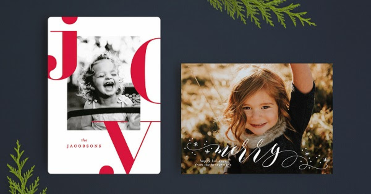 Up to 25% OFF Holiday Card orders with code CM2017