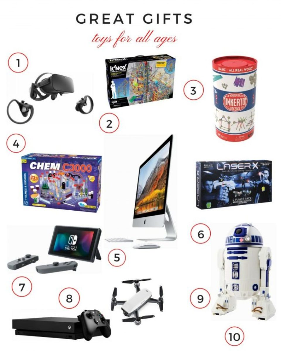 Gift Guide for All Ages