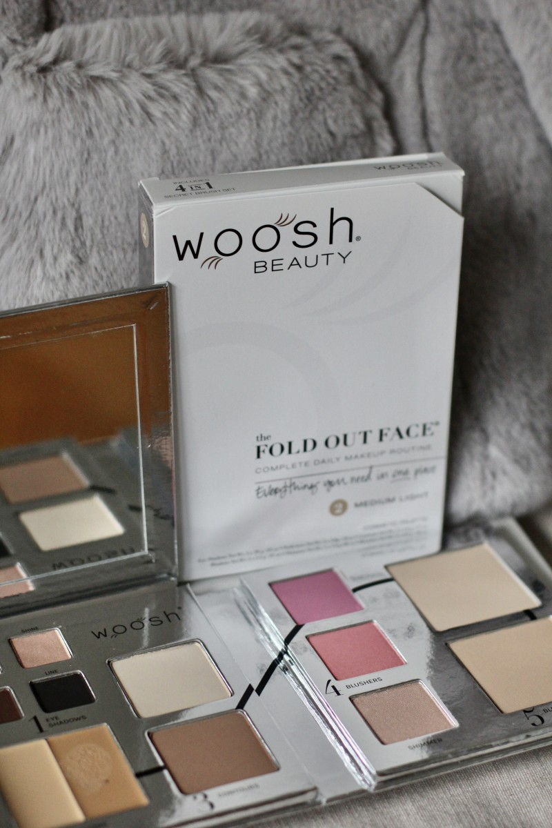 Fold Out Face All-In-One Palette from Woosh Beauty
