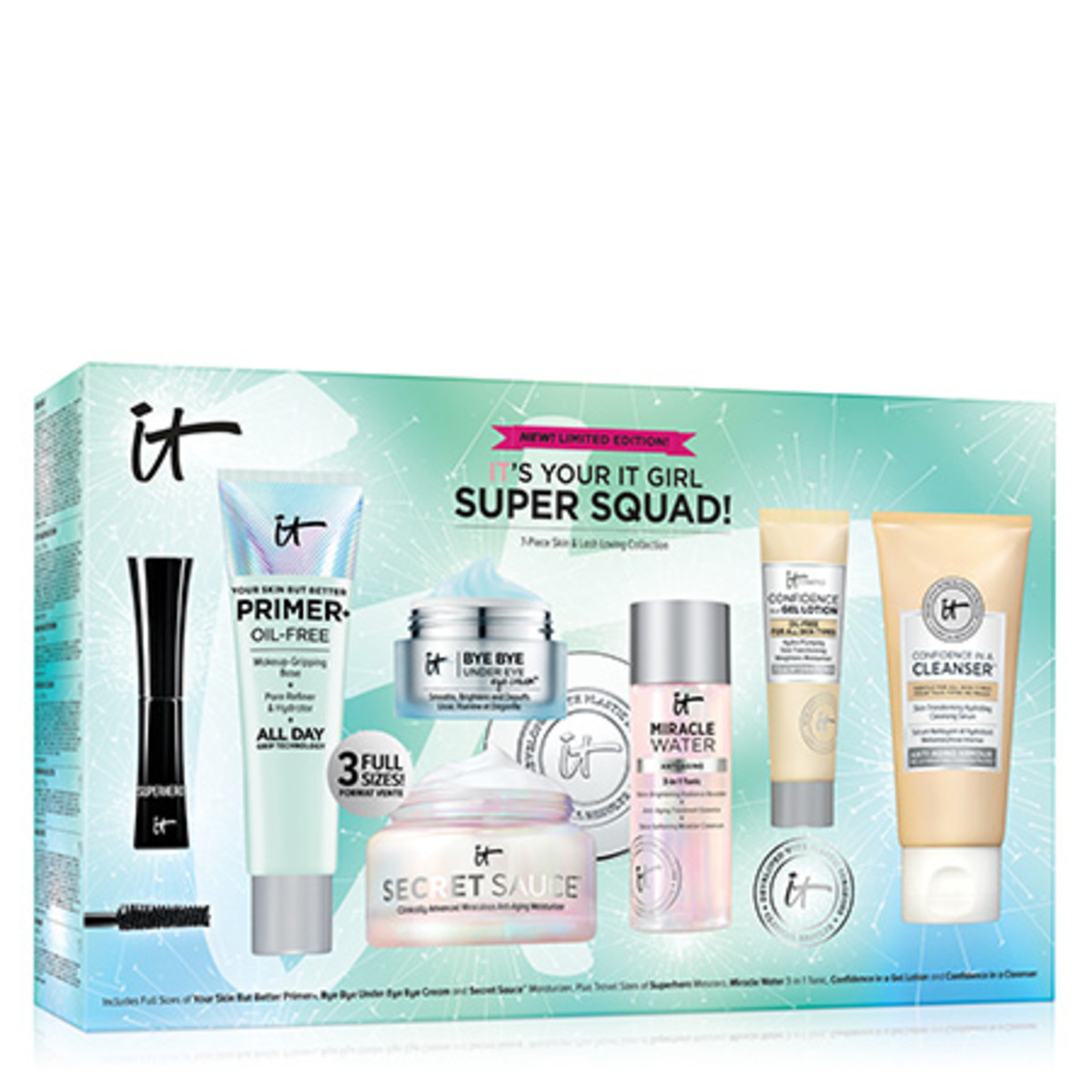 IT Cosmetics IT's Your IT Girl Super Squad Pack Shot