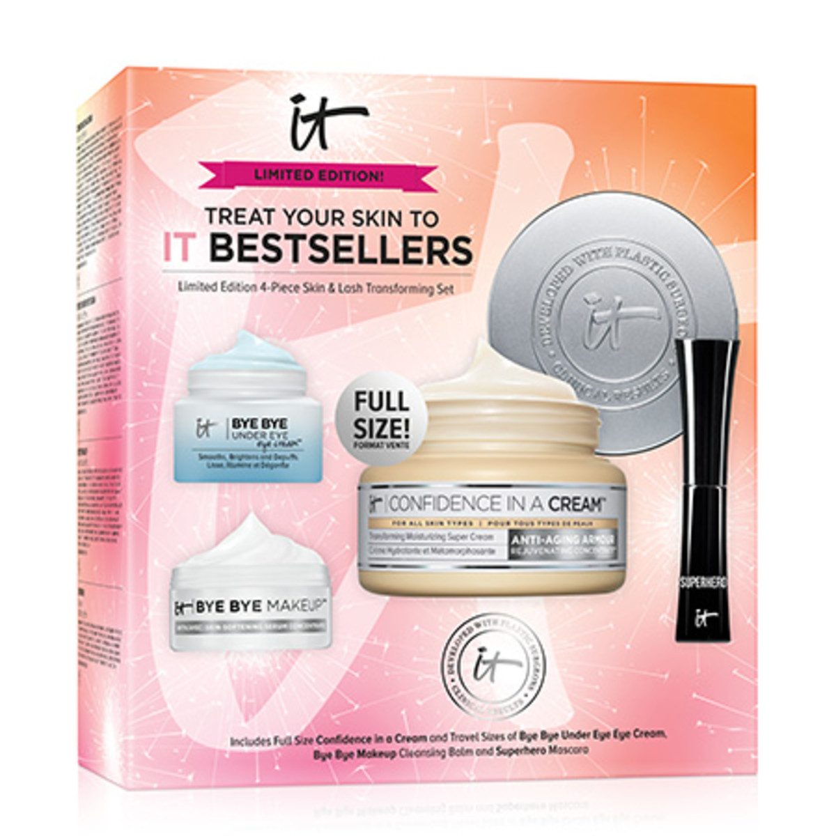 IT Cosmetics Treat Your Skin to IT Best Sellers Box Shot
