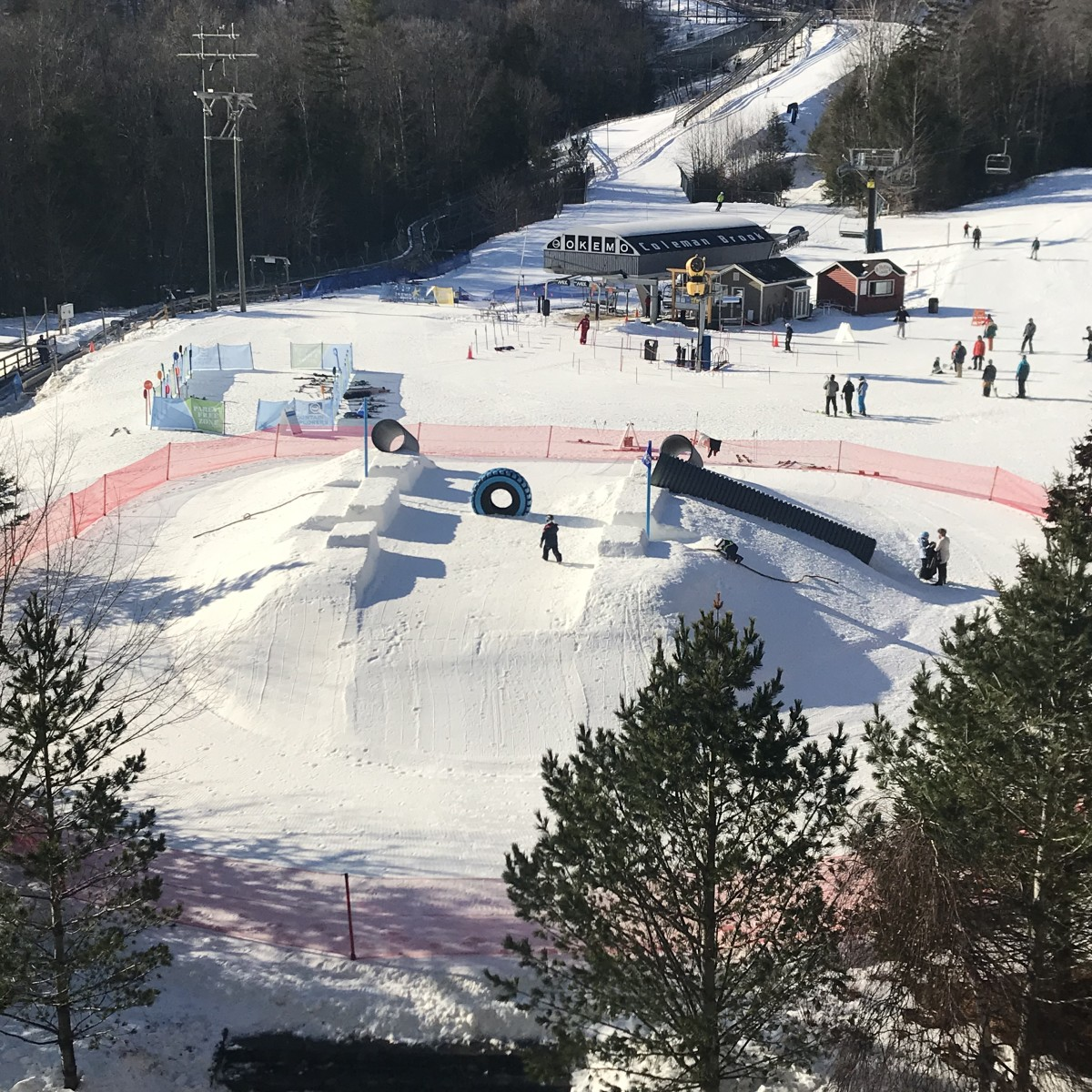 okemo snow playground