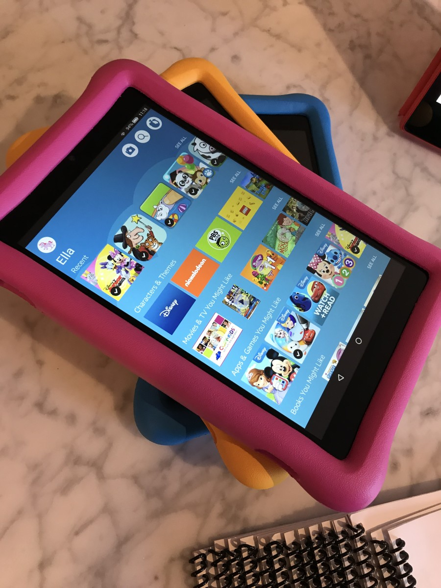 Amazon Fire HD 8 with Amazon Free Time