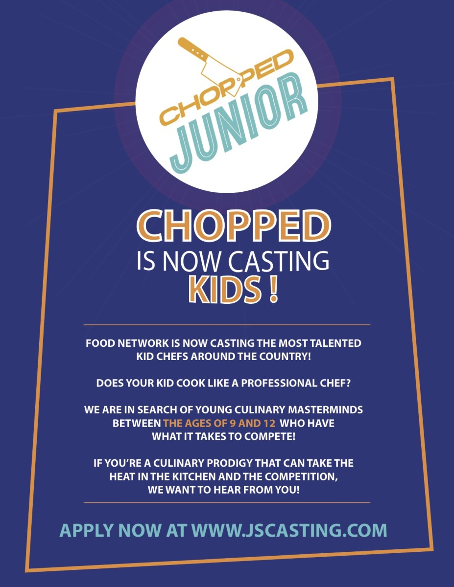 chopped junior casting