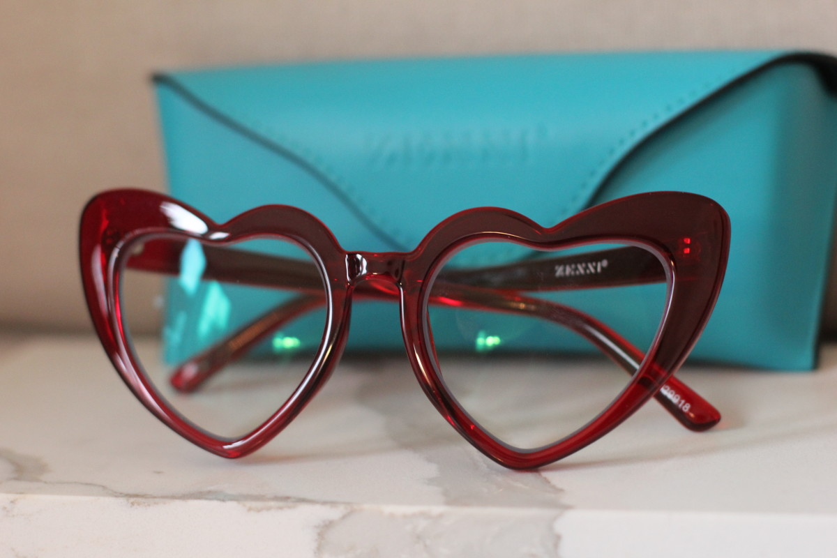 Zenni Heart Eyeglasses